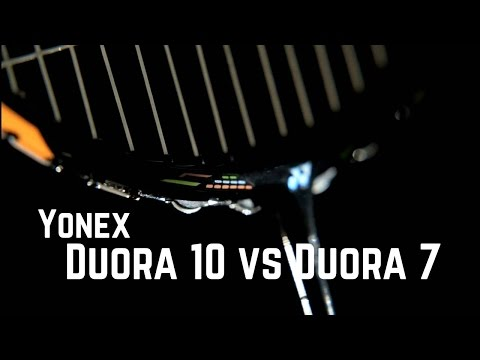 Yonex Duora 10 vs Duora 7 - What are the differences?