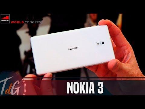 Nokia 3, primeras impresiones #MWC17