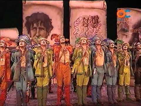 Comparsa La Banda Del Capitán Veneno 2008 Pasodoble El Hinno De España By Mangla Avi Youtube