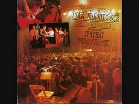 Un giudice - Fabrizio De André PFM in concerto