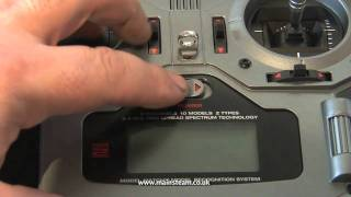 HOW TO BIND A SPEKTRUM DX6i RECEIVER TO ...