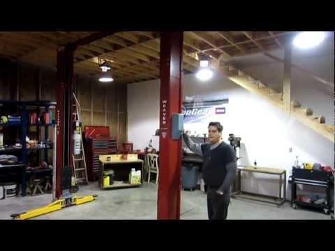 Derek Weaver Car Lift Install