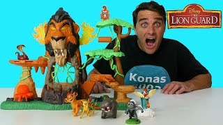 Video The Lion Guard Rise of Scar Playset ! || Toy Review || Konas2002 download MP3, 3GP, MP4, WEBM, AVI, FLV Oktober 2017