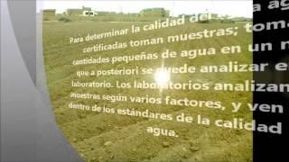 UNFV- Calidad de  Agua para el Riego