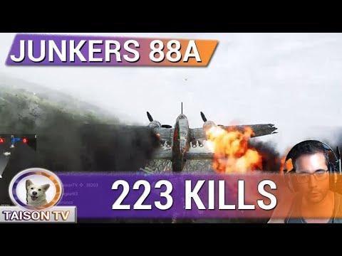 Battlefield V Junkers 88A - 223 KILLS - En Grandes Operaciones Francia