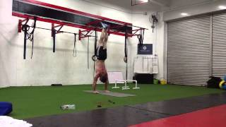 handstands with functional health and movement