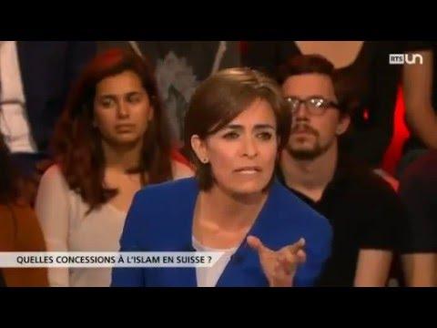 """Débat sur la RTS : """"Quelle place pour l'islam en Suisse"""""""