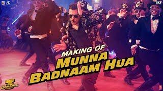 Dabangg 3: Making of Munna Badnaam Hua | Salman Khan | Badshah, Kamaal Khan, Mamta S | Sajid Wajid