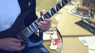 (Howto play..) Warrant - Sometimes She Cries - Intro Solo