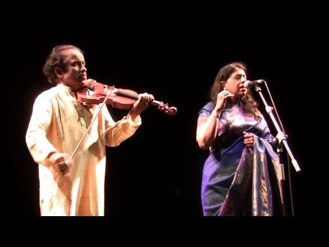 Kavita Krishnamurty & LSubramaniam en Madrid 05/11/2013