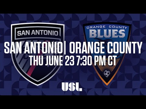 WATCH LIVE: San Antonio FC vs Orange County Blues FC 6-23-16