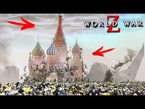 ОДИН МИЛЛИАРД ЗОМБИ VS РОССИЯ! ОНИ УНИЧТОЖИЛИ КРЕМЛЬ! ОПАСНЫЕ ЗОМБИ В МОСКВЕ В WORLD WAR Z