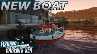 FISHING BARENTS SEA - A BIGGER boat! First Look! #2 [Gameplay]