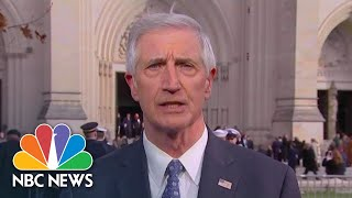 Former President George W. Bush's Chief Of Staff: Bush 41 Was A 'Remarkable Man' | NBC News