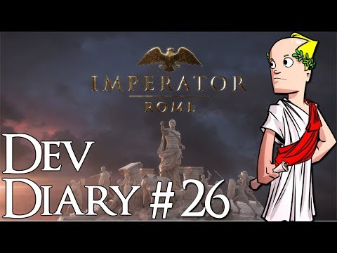 Comet Sighted! | 26 | | Imperator: Rome Developer Diary #26 | The Economy and Egypt