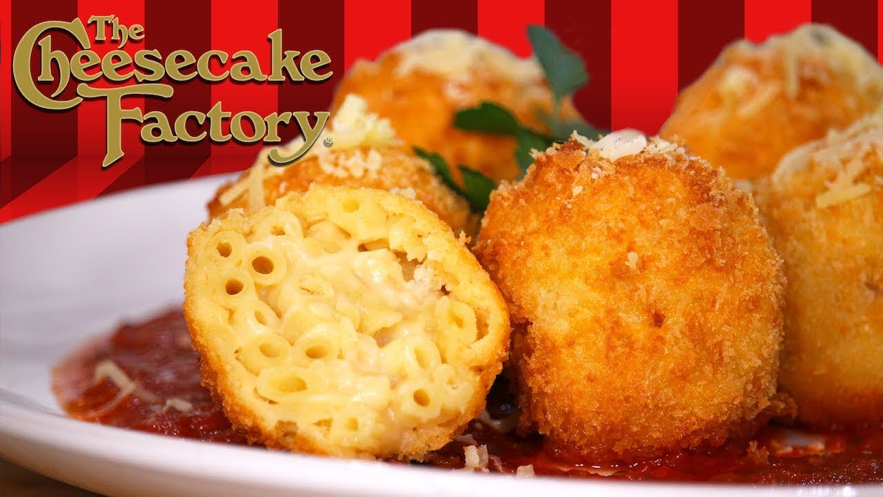 Fried Mac and Cheese - a copycat of the appetizer from Cheesecake Factory! Creamy mac and cheese inside a delicious and crispy breaded outside!