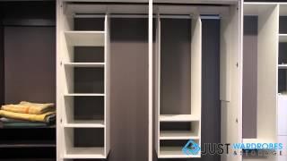 Jws Hinge Door - Suspended Melamine Wardrobe System
