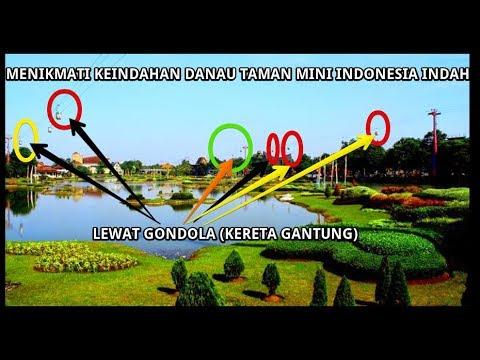 Menikmati Keindahan Danau Taman Mini Indonesia Indah Lewat Gondola