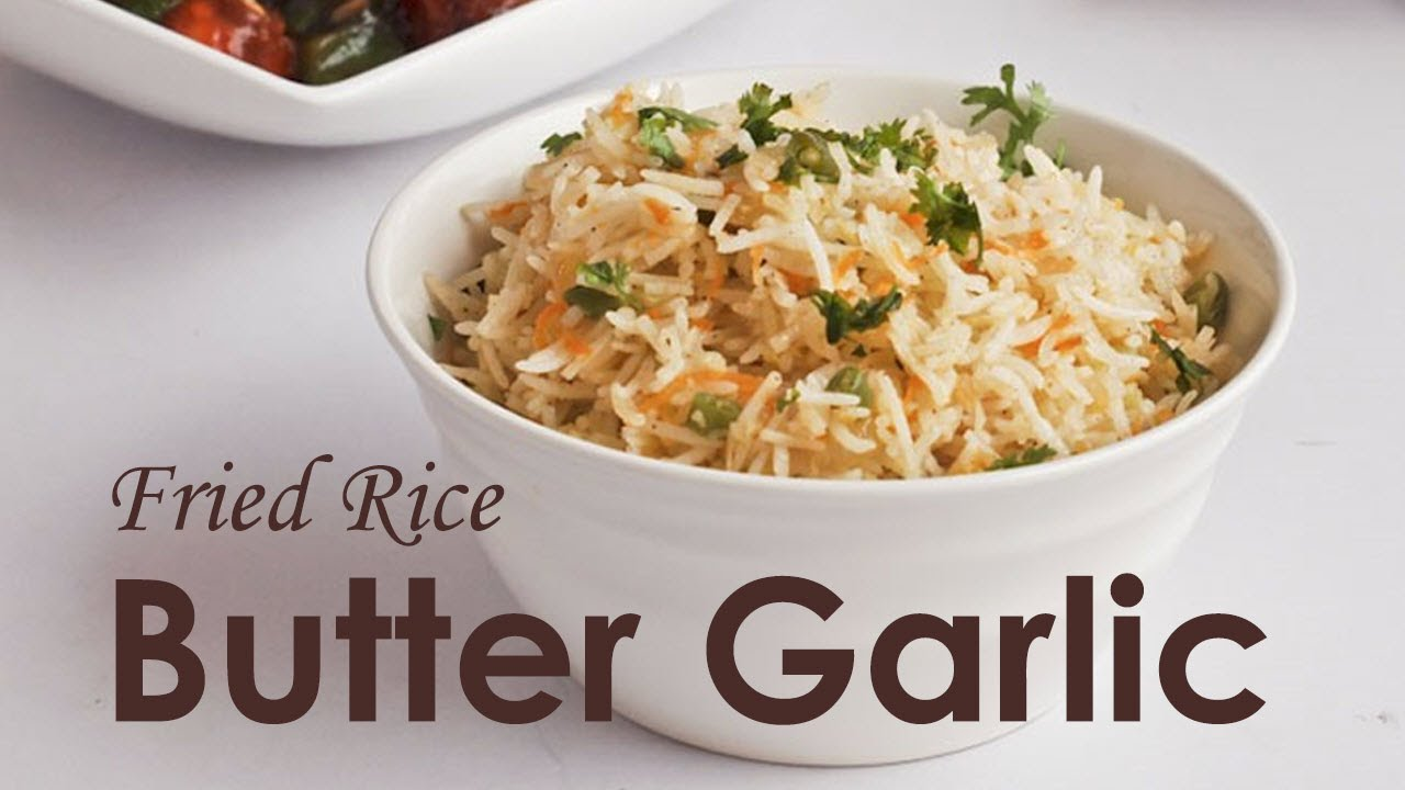 How to make butter garlic fried rice youtube how to make butter garlic fried rice ccuart Choice Image