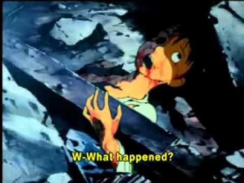 LA BOMBA ATOMICA EN HIROSHIMA   dibujos animados