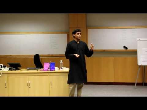 Ravi Kaushik ISB Final Winning Speech Best Speaker Award