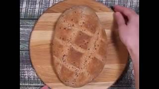 Рецепт полезного хлеба из цельнозерновой муки | Легкий рецепт цельнозернового хлеба