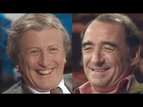 Claude Rich et Claude Brasseur sur scène - Le souper (1991)