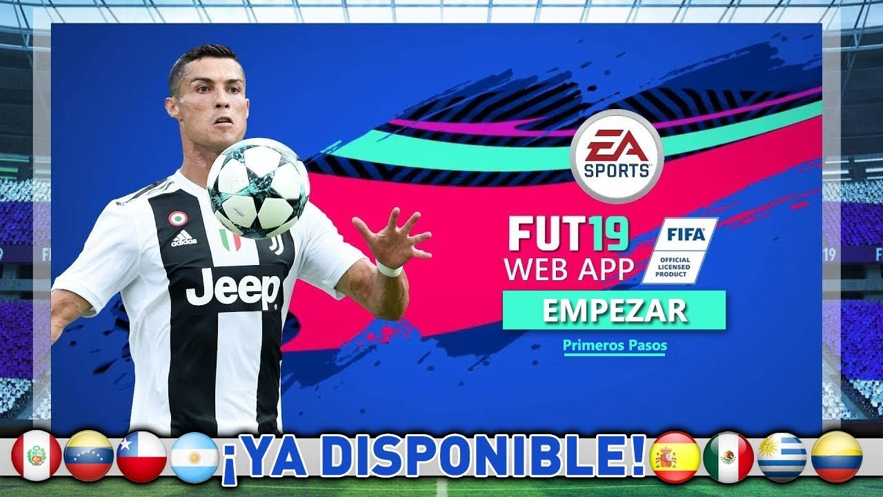 Webapp Fifa 19