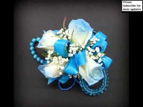 Exceptional Decorative Corsage Light Blue Picture Ideas | Corsage Light Blue Romance