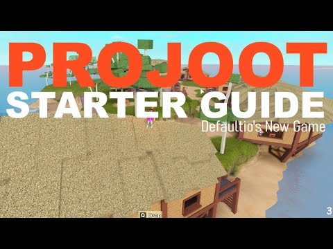 Projoot Starter Guide Defaultio S New Game Roblox Youtube