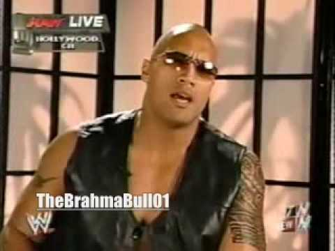 RAW 2003 - The Rock Interview