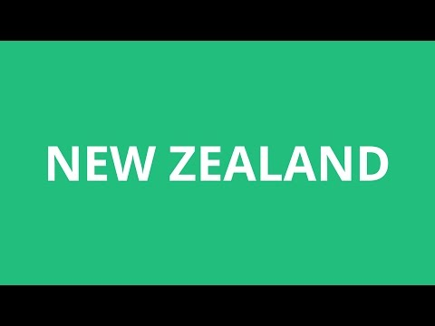 How To Pronounce New Zealand - Pronunciation Academy