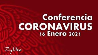 Conferencia de Salud Coronavirus 16 Enero 2021
