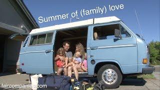 Summer Of (family) Love: Tiny Home Vw-roadtrip Documentary Trailer