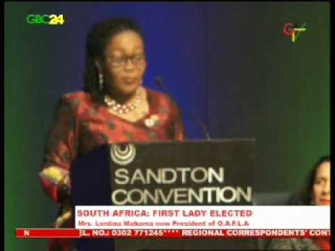 Lordina Mahama Now President Of OAFLA