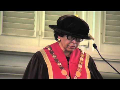 President Ruth J. Simmons 2012 Baccalaureate Address