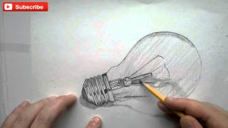 YouDraw: How To Draw A Light Bulb Step By Step