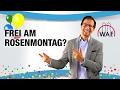 Muss Ich Am Rosenmontag Arbeiten? | Betriebsrat Video