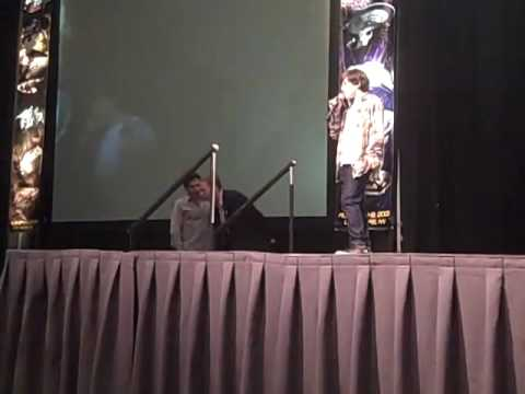 Jacob Kogan does Q+A at Star Trek Convention