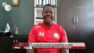 Kelvin Kimathi interviews Harambee Starlets Head Coach, David Ouma   Moves in Europe