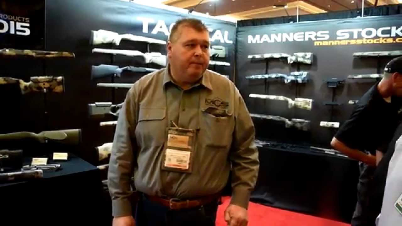 2015 SHOT Show - Manners Composite Stocks