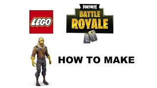 LEGO FORTNITE. How to build FORTNITE skins in LEGO