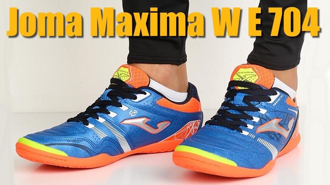 6c290f35a92461 Футзалки Joma Maxima W E704 IN (MAXW.E704.IN) - YouTube
