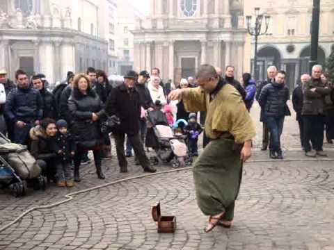 Amazing Street Music Turin Italy