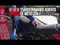 Tapicero.org: Transformando un asiento de moto
