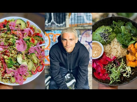 WHAT I ATE TODAY 🌿  Fresh & Healthy Vegan Meals