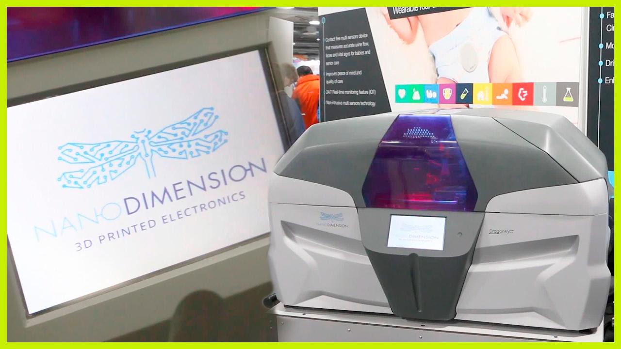 PCB 3D Printer - Nano Dimension | CES 2017