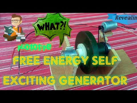 How to make free energy self excited generator || EXPECTATION vs REALITY