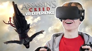 ASSASSIN'S CREED IN VIRTUAL REALITY! | Assassin's Creed VR Movie Experience (Oculus Rift CV1)