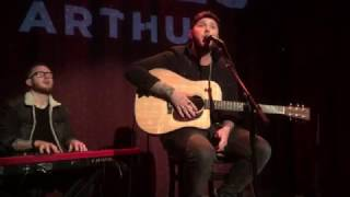 "James Arthur -  ""Safe Inside"" PRIVATE SHOWCASE for Columbia Records 1/11/17"